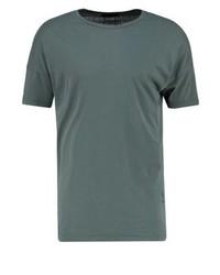 T-shirt à col rond olive Religion
