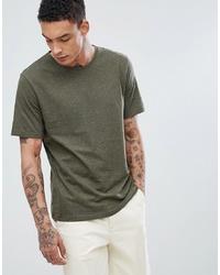 T-shirt à col rond olive troy