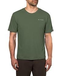 T-shirt à col rond olive VAUDE