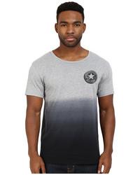 T-shirt à col rond ombre gris