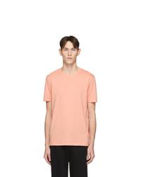 T-shirt à col rond orange Hugo