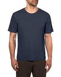 T-shirt à col rond pourpre foncé VAUDE