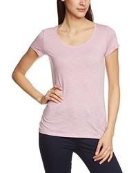 T-shirt à col rond rose s.Oliver