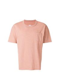 T-shirt à col rond rose VISVIM