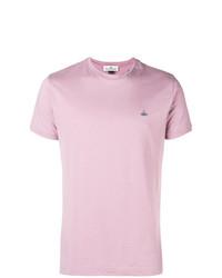T-shirt à col rond rose Vivienne Westwood