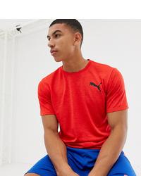 T-shirt à col rond rouge Puma