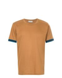 T-shirt à col rond tabac Cerruti 1881