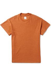 T-shirt à col rond tabac Fanmail