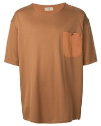 T-shirt à col rond tabac Loveless