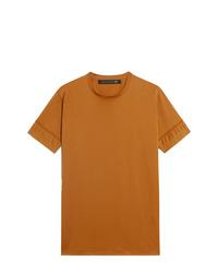 T-shirt à col rond tabac Mackintosh 0003