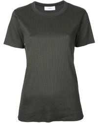 T-shirt à col rond vert foncé ASTRAET