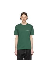 T-shirt à col rond vert foncé Comme Des Garcons SHIRT