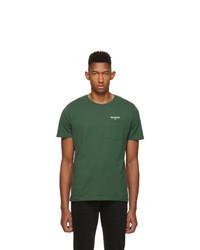 T-shirt à col rond vert foncé Harmony