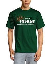 T-shirt à col rond vert foncé Touchlines