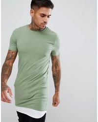 T-shirt à col rond vert menthe ASOS DESIGN