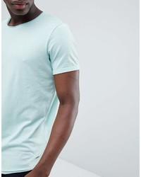 T-shirt à col rond vert menthe Esprit