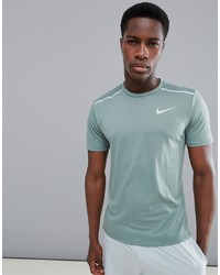 T-shirt à col rond vert menthe Nike Running