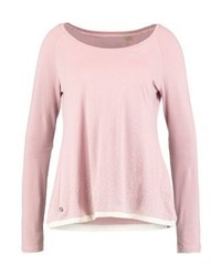 T-shirt à manche longue á pois rose Ragwear