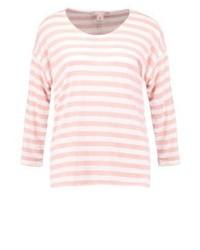 T-shirt à manche longue à rayures horizontales rose Anna Field