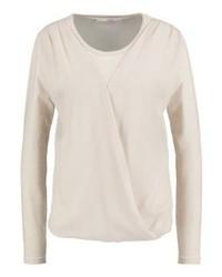 T-shirt à manche longue beige Aaiko