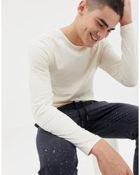 T-shirt à manche longue beige Another Influence