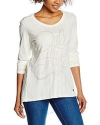 T-shirt à manche longue beige Mod8
