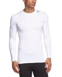 T-shirt à manche longue blanc adidas