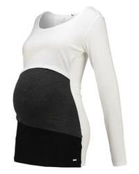 T-shirt à manche longue blanc bellybutton