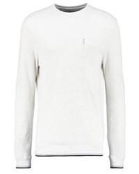 T-shirt à manche longue blanc Ben Sherman
