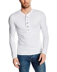 T-shirt à manche longue blanc Carisma