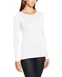 T-shirt à manche longue blanc Dorothy Perkins