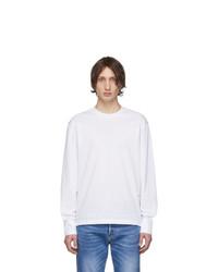 T-shirt à manche longue blanc DSQUARED2