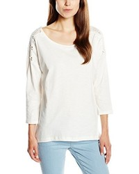 T-shirt à manche longue blanc Esprit