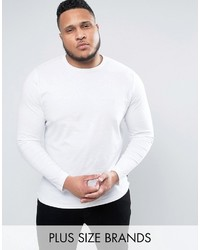 T-shirt à manche longue blanc French Connection