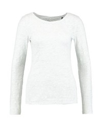 T-shirt à manche longue blanc Marc O'Polo