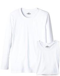 T-shirt à manche longue blanc Mick Morrison