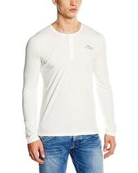 T-shirt à manche longue blanc Pepe Jeans