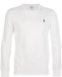 T-shirt à manche longue blanc Polo Ralph Lauren