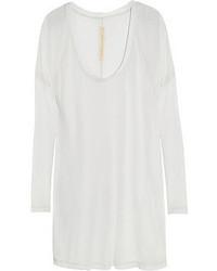 T-shirt à manche longue blanc Raquel Allegra