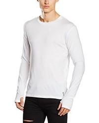 T-shirt à manche longue blanc Religion