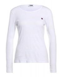 T-shirt à manche longue blanc Sonia Rykiel