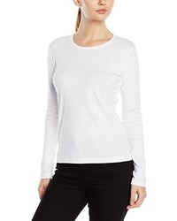 T-shirt à manche longue blanc Stedman Apparel