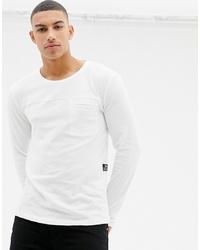T-shirt à manche longue blanc Tom Tailor