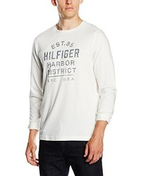 T-shirt à manche longue blanc Tommy Hilfiger