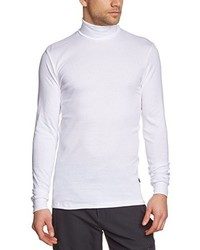 T-shirt à manche longue blanc Trigema