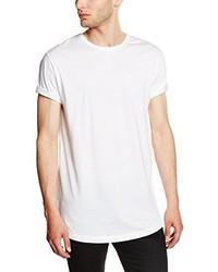 T-shirt à manche longue blanc Urban Classics