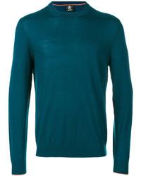 T-shirt à manche longue bleu canard Paul Smith