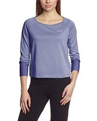 T-shirt à manche longue bleu clair ODLO