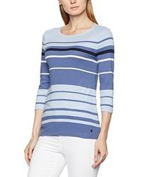 T-shirt à manche longue bleu clair Olsen