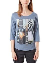 T-shirt à manche longue bleu clair Q/S designed by